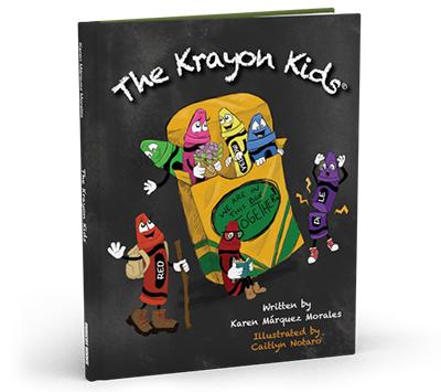 Krayon Kids Book Cover