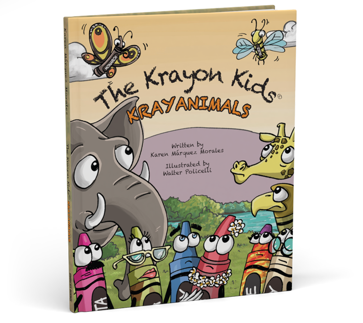 Krayon Kids Krayanimals Book Cover